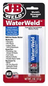 Puttv Amazon Com J B Weld 8277 Waterweld Epoxy Putty Stick 2 Oz