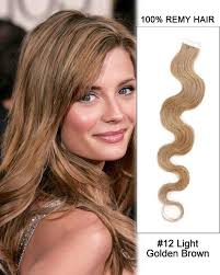 light brown hair piece tape in hair extensions cheap remy human hair extensions online