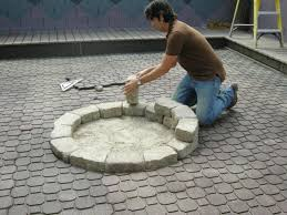How To Build A Propane Fire Pit Table by How To Make A Backyard Fire Pit Hgtv
