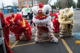 lion dancer book lion white lotus lion mualan 舞狮 portland