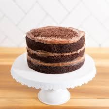 small layer cake brigadeiro bakery