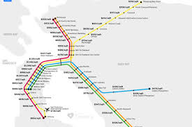Bart Map And Schedule by Bay Area Home Prices By Transit Stop Will Terrify You Curbed Sf