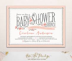 baby shower brunch invitation wording baby shower invitations baby shower brunch invitations wording
