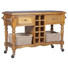 kitchen island trolley hton granite top kitchen island trolley in honey buy kitchen
