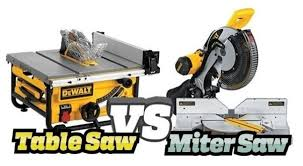 can you use a table saw as a jointer when do you use a miter saw versus a table saw quora