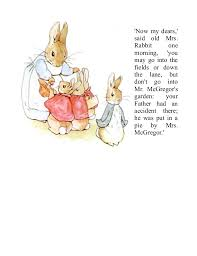 mr mcgregor s garden rabbit the tale of rabbit