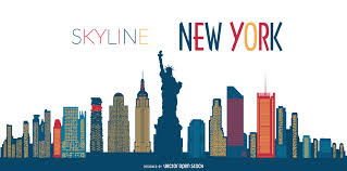 Free Silhouette Images New York Skyline Silhouette Vector Download
