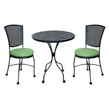 Wrought Iron Patio Bistro Set 19 Best Outdoor Wrought Iron Table Chairs Images On Pinterest