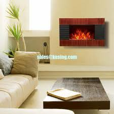 Wall Mounted Electric Fireplace Heater Mounted Electric Fireplace Heater Wooden Base Flame Ef423s Ef423sl
