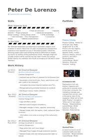 Sample Designer Resume by Art Director Cv örneği Visualcv özgeçmiş örnekleri Veritabanı