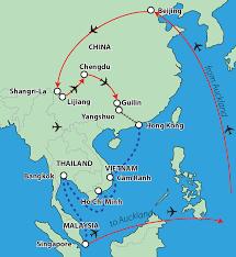 Guilin China Map by China U0026 South East Asia Tour U2014 Playaway Tours 0800 12 86 87
