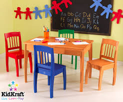 wooden children table and chair modern chairs quality interior 2017