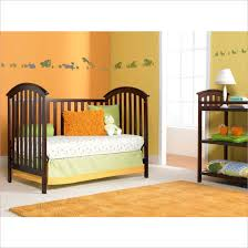 Bellini Convertible Crib Contvertible Cribs Solid Wood Modern Bronze Wood Graco Freeport