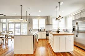 kitchen islands with butcher block tops the kitchen looks traditional with butcher block kitchen