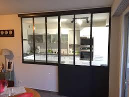 verriere interieur cuisine verrière intérieure cuisine séjour coulissante industriel
