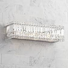 Lamps Plus Bathroom Lighting by Possini Euro Crystal Columns 23
