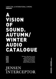 jensen interceptor autumn winter audio catalogue u2014 undr ctrl
