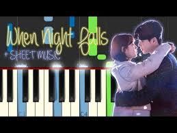 download mp3 eddy kim when night falls when night falls piano tutorial eddy kim while you were sleeping ost