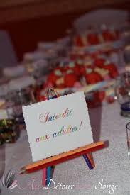 table enfant mariage décoration blanc et noir mariage table enfant black and