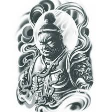 chinese god tattoo images 40 magnificent chinese tattoos slodive