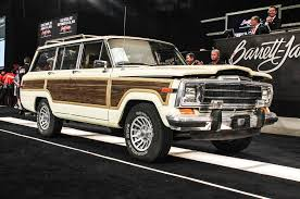 jeep grand wagoneer concept the top cars sold at auction in 2015