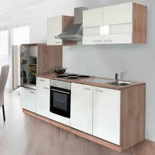 K Henzeile Angebot Respekta Küchenzeile Ohne E Geräte Lbkb270esw 270 Cm Weiß Eiche