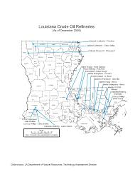 Louisiana Parish Map With Cities by Department Of Natural Resources State Of Louisiana