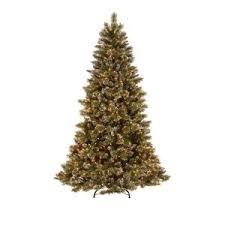 martha stewart christmas lights shooting star of martha stewart living 7 5 ft pre lit sparkling pine artificial