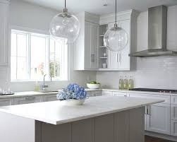 Kitchen Island Lighting Uk by Clear Blown Glass Pendant Lighting Clear Glass Pendant Lights For