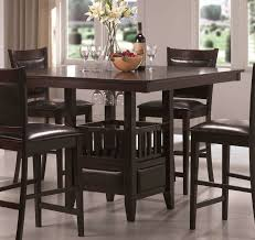 black high table and chairs pub table sets an exclusive choice for smaller kitchens