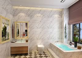 Bathroom Track Lighting Great White Bathroom Designs With Marble Wall And Stylish Track