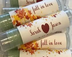 fall wedding favor etsy