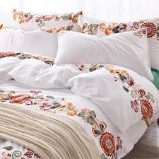 aliexpress com buy cotton new printing flower bedding set