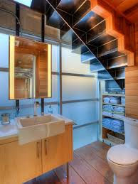 Teal Powder Room 12 Creative Ways To Use The Space Under Your Stairs Room