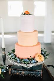 peach ombre wedding cake best seattle wedding cakes wedding cake peach and cake