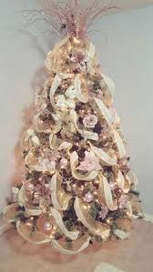 Glitter Rose Christmas Decorations by 24 Rose Gold Shiny Matt Glitter Christmas Baubles Decorations Tree