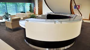 Stand Up Reception Desk by Great Photograph Handsome L Shaped Home Office Desk With