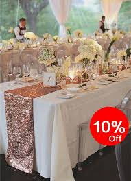 gold christmas table runner 10 off rose gold table runners party sequin table runner for