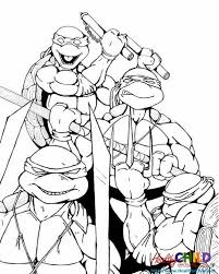 ninja turtles coloring pages free coloring pages ideas