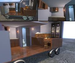 tiny mobile house project for 3d animation by eversorphantas on