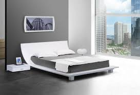 wood and platform metal bed frame to attach the headboard for a