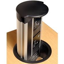 Office Desk Power Sockets Eclipse 2x Uk Office Power Socket Modules Apres Furniture