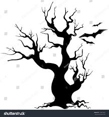 halloween background silhouettes halloween tree silhouette stock vector 115817854 shutterstock