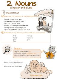 ideas of kinds of nouns worksheets for grade 6 also form