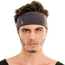 hair bands for men sporty touch 4 wide men headband sweatband best for sports running