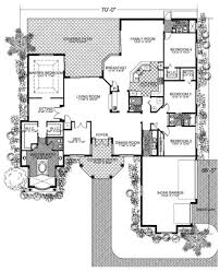 mediterranean style house plan 4 beds 3 50 baths 3442 sq ft plan