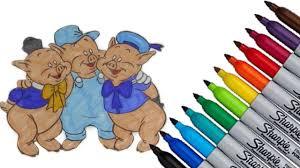 pigs coloring 2017 hd video kids