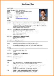 pdf of resume format 8 cv format sle pdf mail clerked