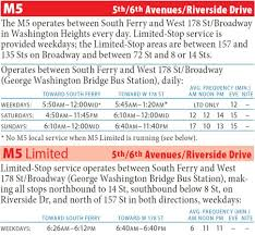 B15 Bus Route Map by M5 Bus Gw Bridge South Ferry