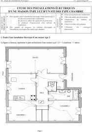 installation electrique cuisine etude des installations électriques d une maison type 3 et d un
